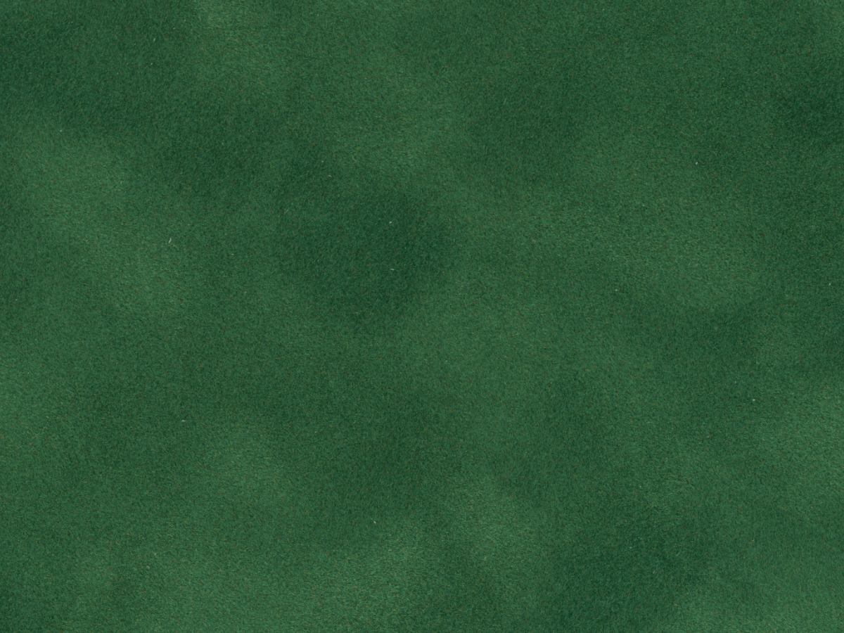 "Crescent Decorative Matboard<br /> Royal Moorman - Black Core Suede<br />Shamrock Green 32""x40"" 4-Ply"