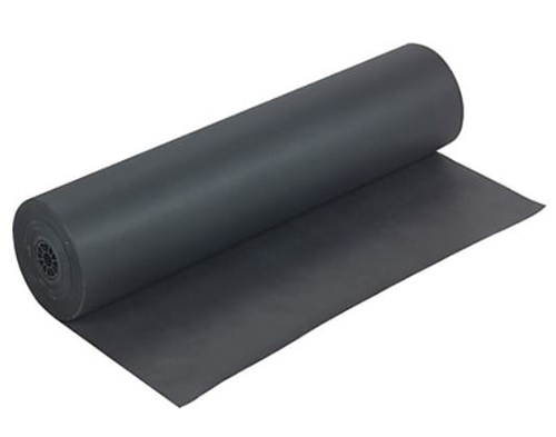 Latex Black Kraft Paper<Br>1 Side Latex<Br> (50 Lb.) <Br> 36 In.