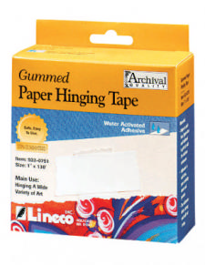 Paper framing tape