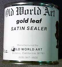 Satin Sealer <BR> ( 8 oz. )