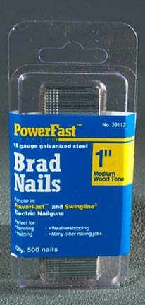 Bostitch Nails - Brown Only