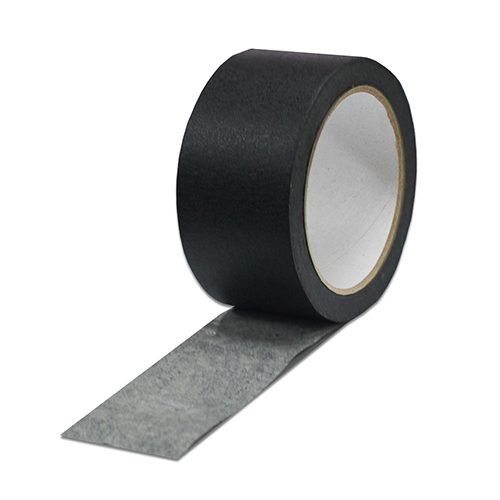 "2"" x 60 Yards Black Crepe Masking Tape"
