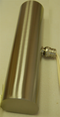 Contemporary Satin Nickle Light