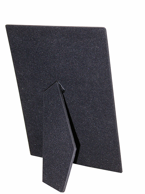 4 x 6 Black Velour Easel Bk 6  Pack 2 Pos.