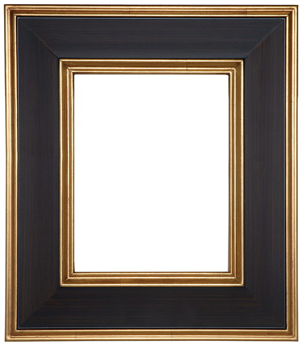 "FR100-Gold with Burgundy Panel<br>11""X14""<br>3-1/4"" Width, 5/8"" Rabbet"