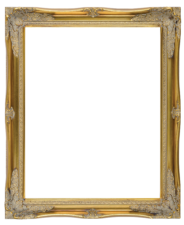 "FR83-Antique Gold with Compo<br>8""X10""<br>2"" Width, 3/8"" Rabbet"